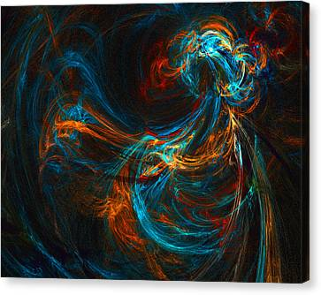 Woman Of Spirit Canvas Print by R Thomas Brass