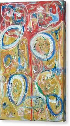 The Vessel Of Living Canvas Print by Phoenix De Vries