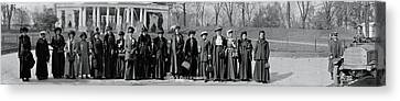 Matron Canvas Print - Womans Christian Temperance Union by Fred Schutz Collection