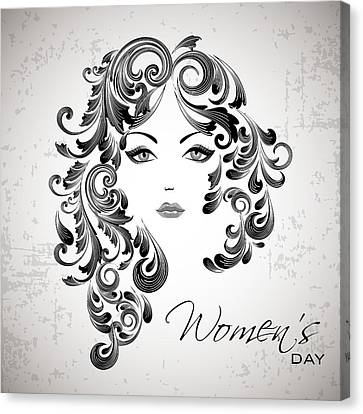 Women's Day Usa Canvas Print by Stanley Mathis