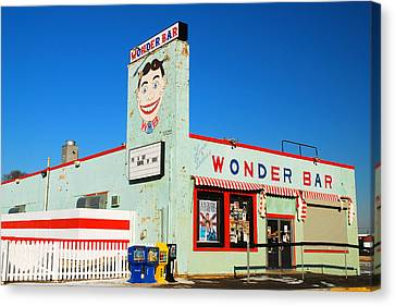 Wonder Bar Asbury Park Canvas Print by James Kirkikis