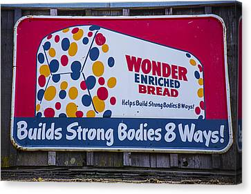 Wonder Bread Sign Canvas Print by Garry Gay