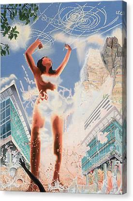 Wonder Canvas Print by Dave Martsolf