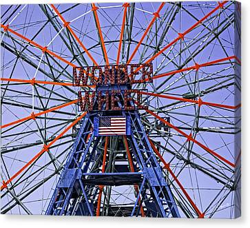 Wonder Wheel 2013 - Coney Island - Brooklyn - New York Canvas Print