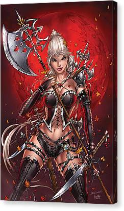 Wonderland 05c Canvas Print by Zenescope Entertainment