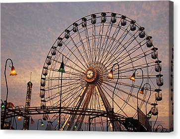 Wonderland Sunset Canvas Print by Dan Myers