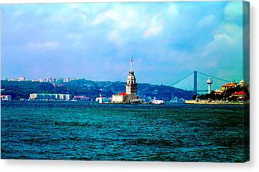 Canvas Print featuring the photograph Wonders Of Istanbul by Zafer Gurel