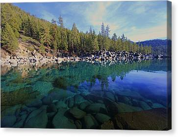 Canvas Print featuring the photograph Wondrous Waters by Sean Sarsfield