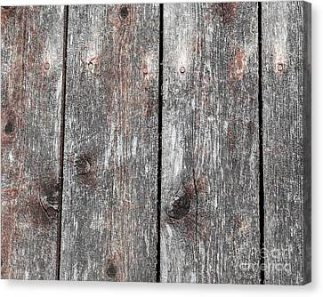 Wood II Canvas Print by Bruce Stanfield