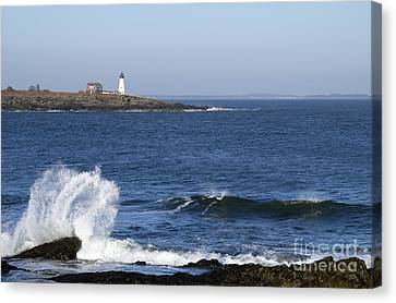Wood Island Light Canvas Print