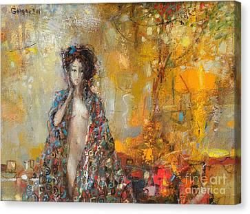 Canvas Print - Wood -nymph by Grigor Malinov