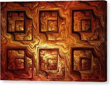 Wood Panel Canvas Print by Anastasiya Malakhova