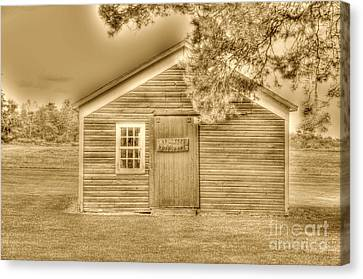 Wood Shop Canvas Print by Kathleen Struckle