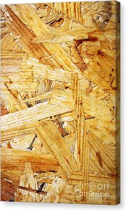 Wood Splinters Background Canvas Print