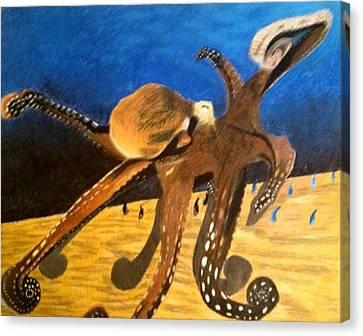 Wood To Water Canvas Print by Joe Davis