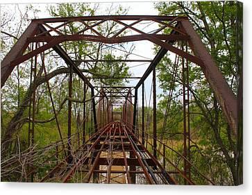 Woodburn Bridge Indianola Ms Canvas Print