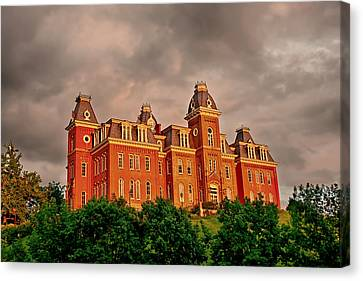Woodburn Hall After The Storm Canvas Print by Dusty Phillips