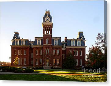 Woodburn Hall Late Afternoon Sun Canvas Print by Dan Friend
