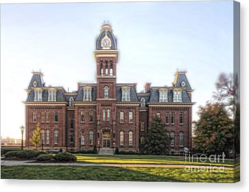 Woodburn Hall Paintography Canvas Print by Dan Friend