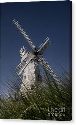 Woodchurch Windmill Canvas Print by Lee-Anne Rafferty-Evans