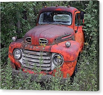 Canvas Print featuring the photograph Wooded Ford by Christopher McKenzie