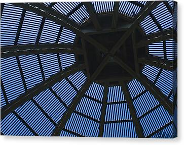 Wooden Dome Canvas Print