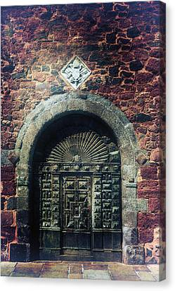 Wooden Gate Canvas Print by Joana Kruse