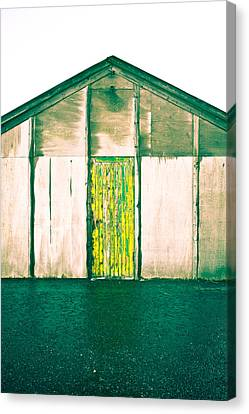 Wooden Hut Canvas Print by Tom Gowanlock