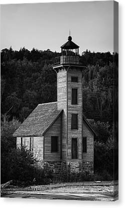 Wooden Lighthouse Canvas Print by Sebastian Musial