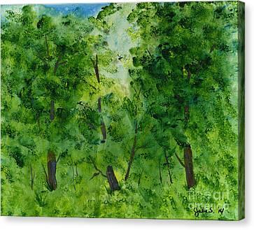 Woodland Haven Canvas Print