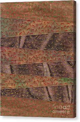 Woodland Quilt Block Canvas Print