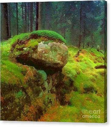 Woodlands Canvas Print by Lutz Baar