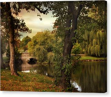 Woodlawn Reflections Canvas Print by Jessica Jenney