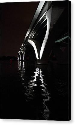Wilson Canvas Print - Woodrow Wilson Bridge - Washington Dc - 011326 by DC Photographer