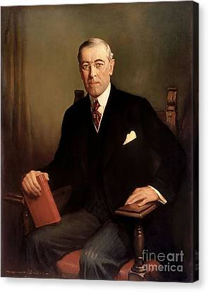 Woodrow Wilson Canvas Print by Graham Cootes