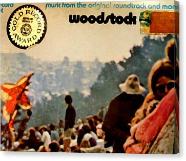Woodstock Cover 1 Canvas Print by Marcello Cicchini