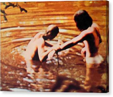 Woodstock Cover 2 Canvas Print by Marcello Cicchini