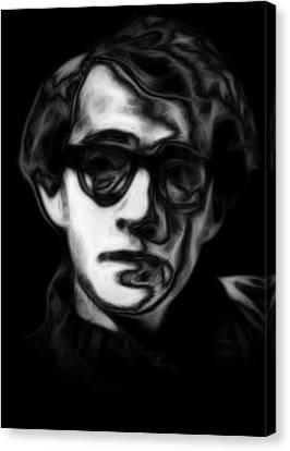Woody Allen Canvas Print - Woody Allen by Steve K