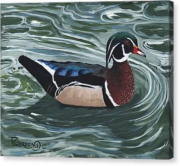 Woody Canvas Print by Timithy L Gordon