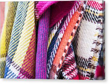 Wool Blankets Canvas Print by Tom Gowanlock