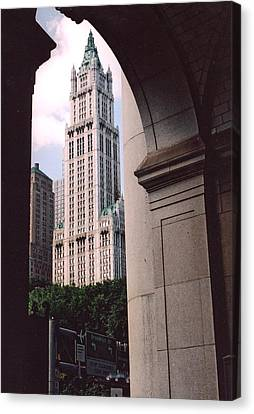 Woolworth Building Canvas Print