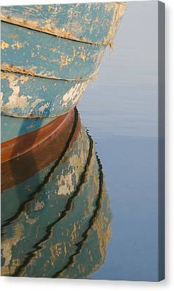 Work Boat Canvas Print
