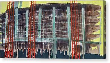 Work In Progress I Canvas Print by Luke M Walker