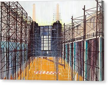 Work In Progress II Canvas Print by Luke M Walker