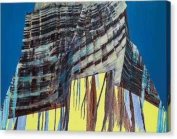 Work In Progress Iv Canvas Print by Luke M Walker