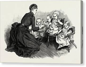 Work Of The National Society For The Prevention Of Cruelty Canvas Print