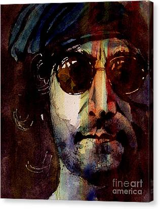 Working Class Hero Canvas Print by Paul Lovering