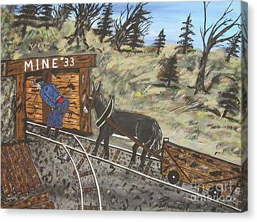 The Coal Mine Canvas Print