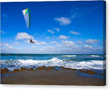Working On The Bucket List Canvas Print by Mark Andrew Thomas