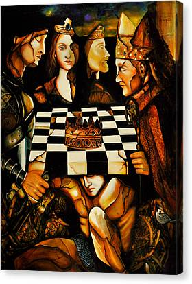 World Chess   Canvas Print by Dalgis Edelson